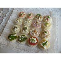 banqueteria express fiestas canapes brochetas empanaditas minipizzas petitbouche