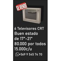 Vendo 6 televisores CTR