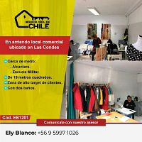 Arriendo Local de 19 MT² en Las Condes.