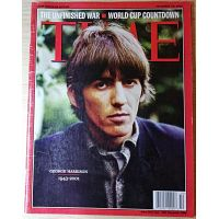 Revista Time - En Memoria de George Harrison