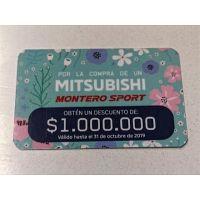 Descuento $1.000.000 Mitsubishi Montero