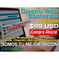DISEÑO DE PAGINAS WEB PARA BRUJOS, CHAMANES, VIDENTES. CONTACTANOS HOY MISMO