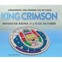 Entradas Dobles King Crimson Platea Movistar