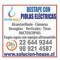 DESTAPE DE ALCANTARILLADO