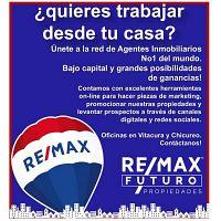 Emprende y arma tu negocio de bienes raíces con RE/MAX Futuro
